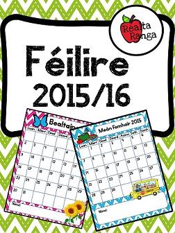Féilire 2015-16 a