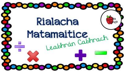Rialacha Matamaitice - Leabhrán Réidh
