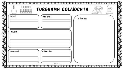 Turgnamh Eolaíochta1
