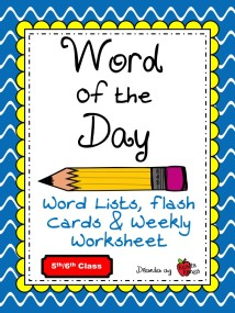 Word of the Day in English